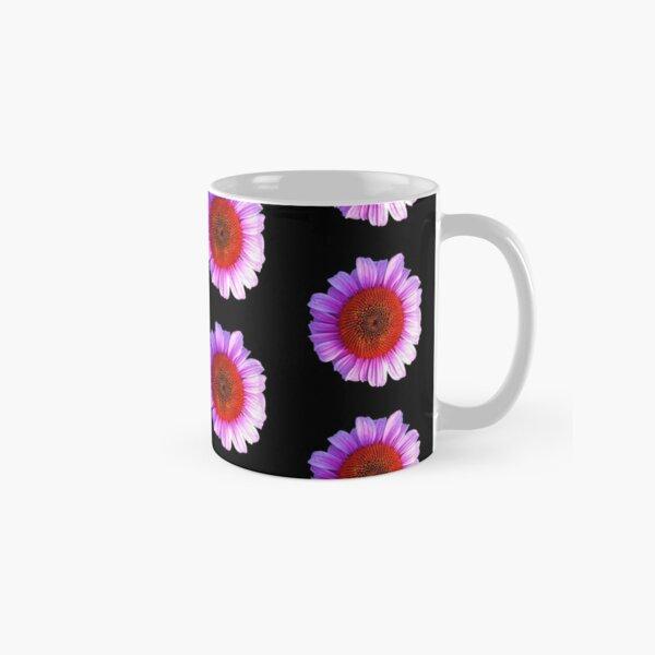 pink daisy outline Classic Mug