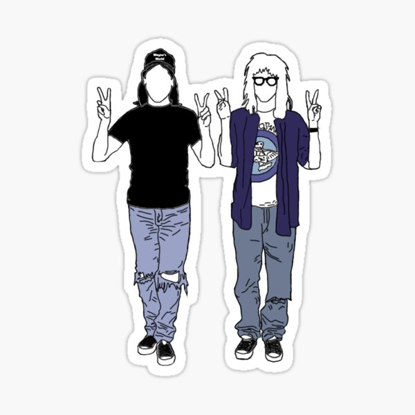 Wayne's World Sticker