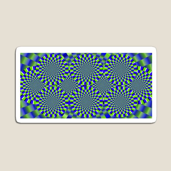 Optical Illusion, visual illusion, #Optical, #Illusion, #visual, #OpticalIllusion, #visualillusion Magnet