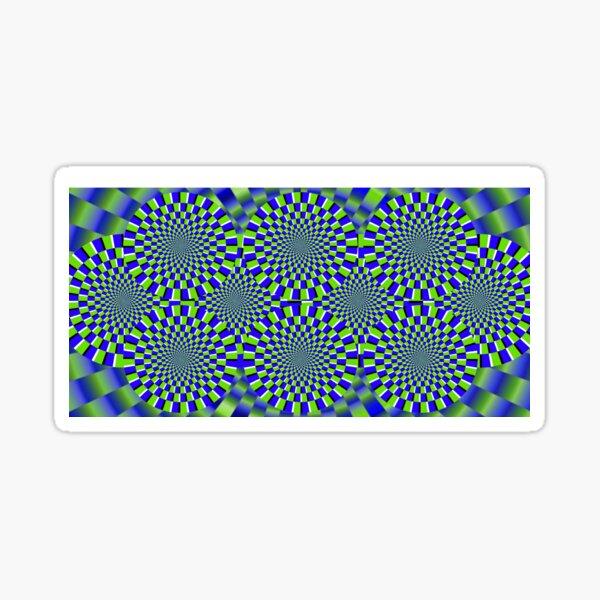 Optical Illusion, visual illusion, #Optical, #Illusion, #visual, #OpticalIllusion, #visualillusion Sticker