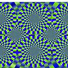Optical Illusion, visual illusion, #Optical, #Illusion, #visual, #OpticalIllusion, #visualillusion by znamenski