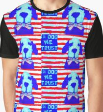 IN DOG WE TRUST BY MICHELLE RIVERA Graphic T-Shirt