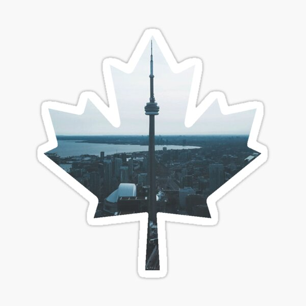 Toronto - Canadian Maple Leaf Sticker