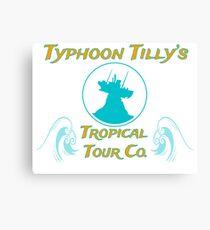 Typhoon Tilly Canvas Print