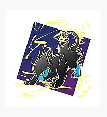 Pokemon - Luxray Photographic Print