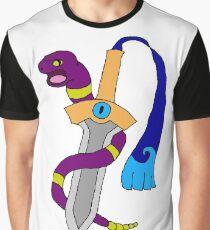 Ekans and Honedge - Snake and Dagger Graphic T-Shirt