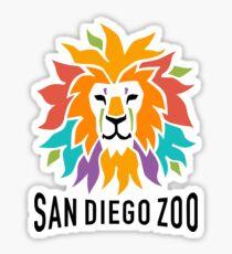 San Diego Zoo Logo Sticker