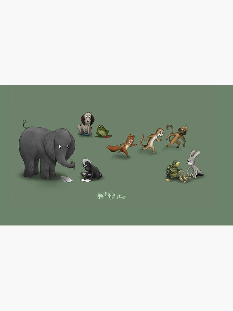 Animals at play by piploproduction