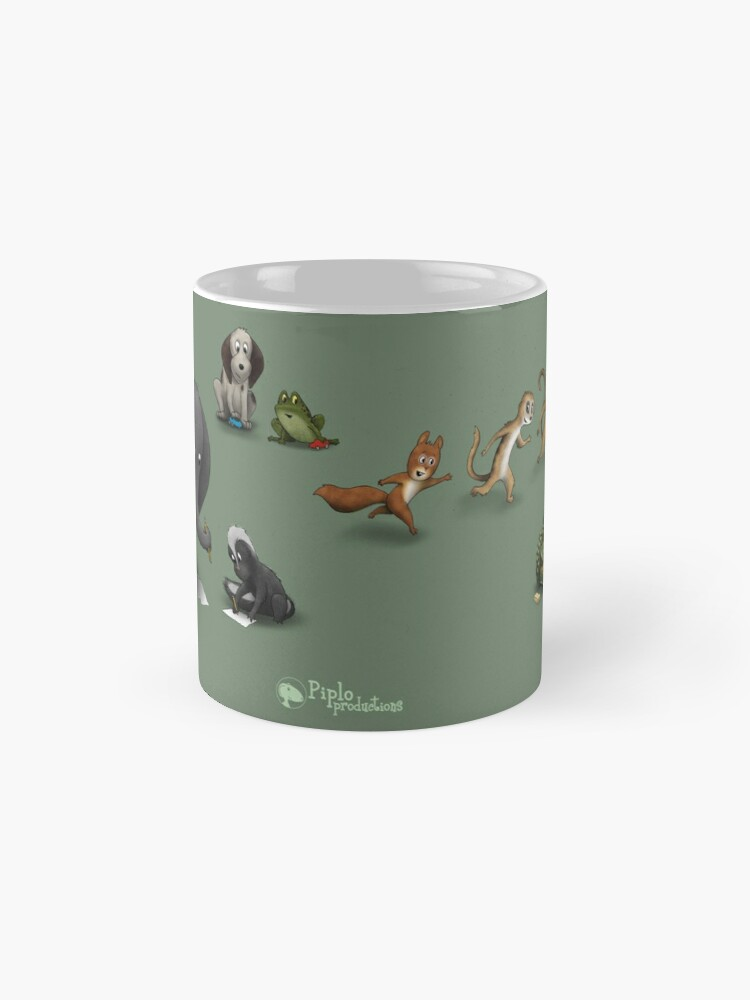 Alternate view of Animals at play Mug