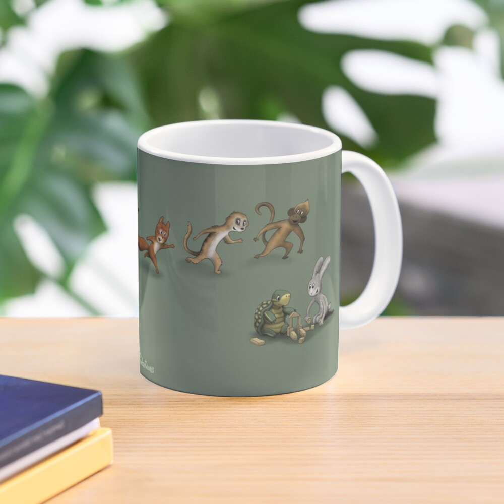 Animals at play Mug