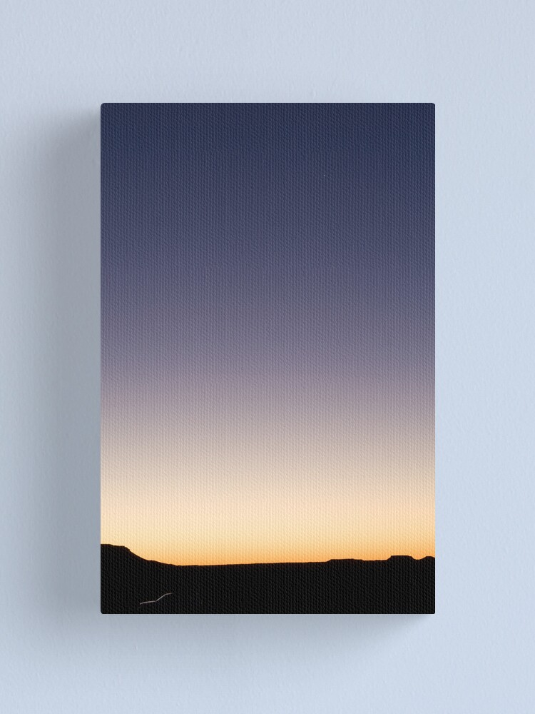 Alternate view of Evening star Canvas Print