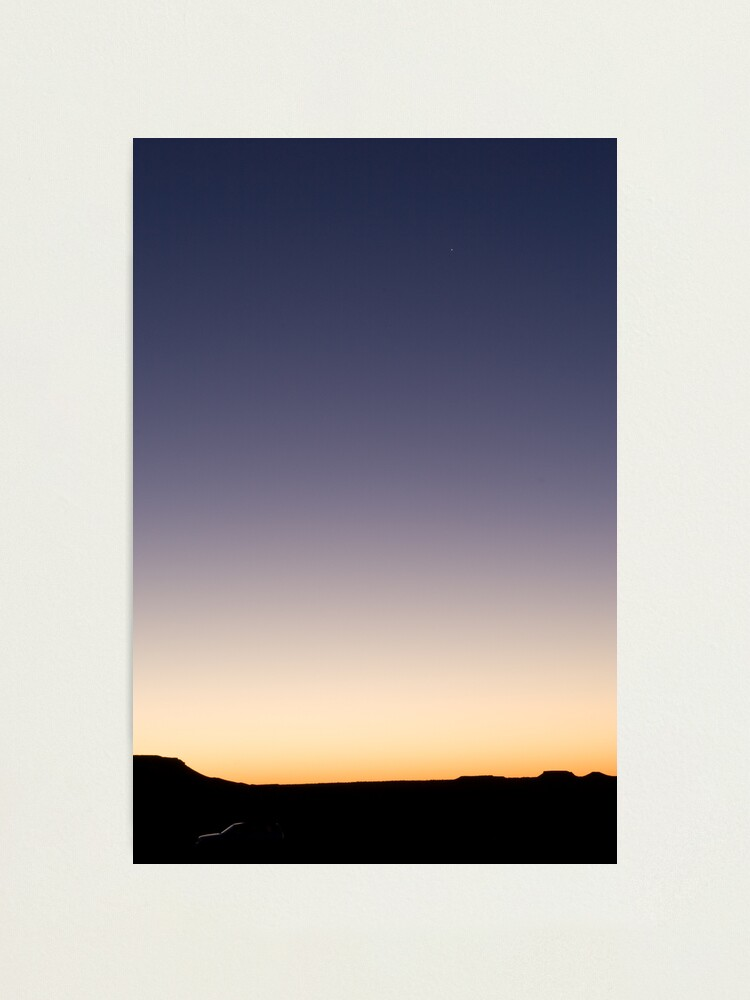Alternate view of Evening star Photographic Print