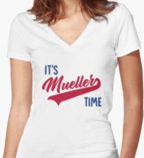 Müller Shirt mit V-Ausschnitt