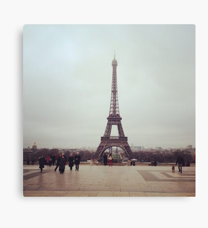 Beyond The Eiffel Tower Canvas Print