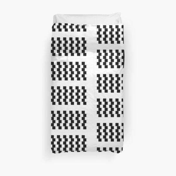 Optical Illusion, Visual Illusion,  Cognitive Illusions Duvet Cover