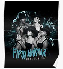Reflection Tour Merch [BLUE] // Fifth Harmony Poster