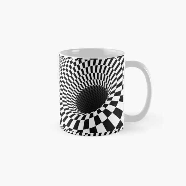 Optical Illusion, Visual Illusion,  Cognitive Illusions, #OpticalIllusion, #VisualIllusion,  #CognitiveIllusions, #Optical, #Illusion, #Visual, #Cognitive, #Illusions Classic Mug