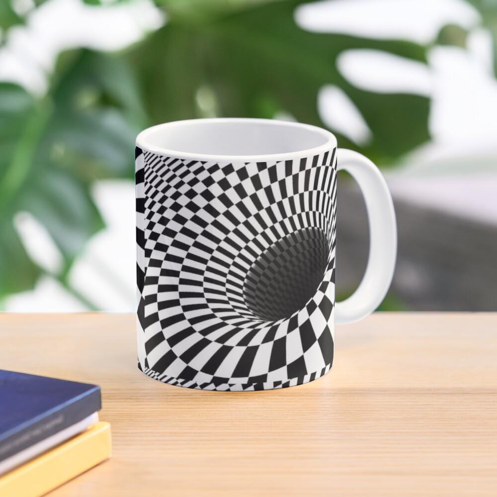 Optical Illusion, Visual Illusion,  Cognitive Illusions, #OpticalIllusion, #VisualIllusion,  #CognitiveIllusions, #Optical, #Illusion, #Visual, #Cognitive, #Illusions Mug