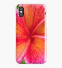 Frangipani Macro iPhone Case/Skin
