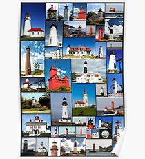 Lighthouses Lighthouses Lighthouses Poster