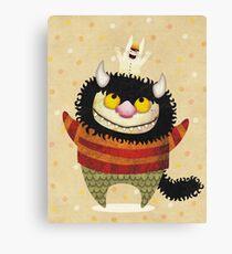 Friendship Monster Canvas Print