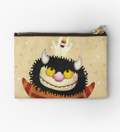 Friendship Monster Zipper Pouch
