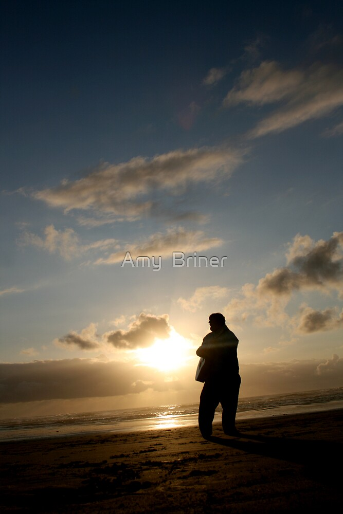 sunset blues #2 by Amy  Briner