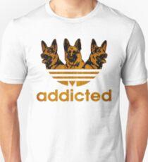 German-Shepherd-Adidas Unisex T-Shirt