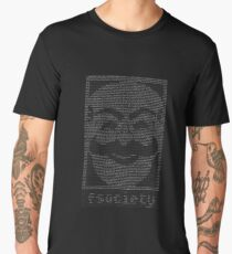 mr. robot - f.society.dat Men's Premium T-Shirt