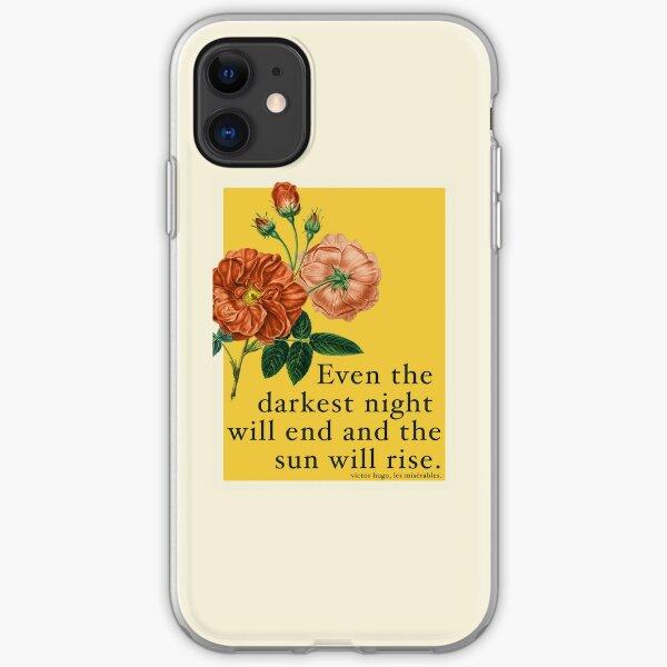 Les Miserables Quote iPhone Soft Case