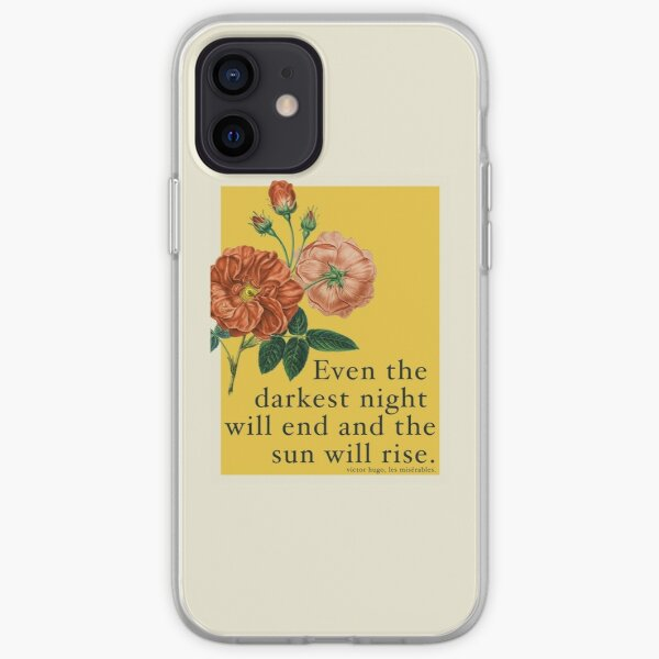 Les Miserables Quote iPhone Soft Case