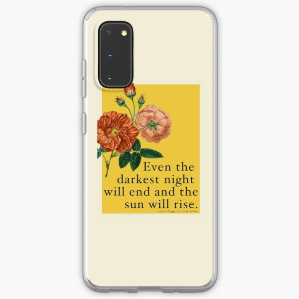 Les Miserables Quote Samsung Galaxy Soft Case