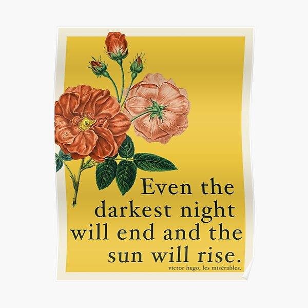 Les Miserables Quote Poster