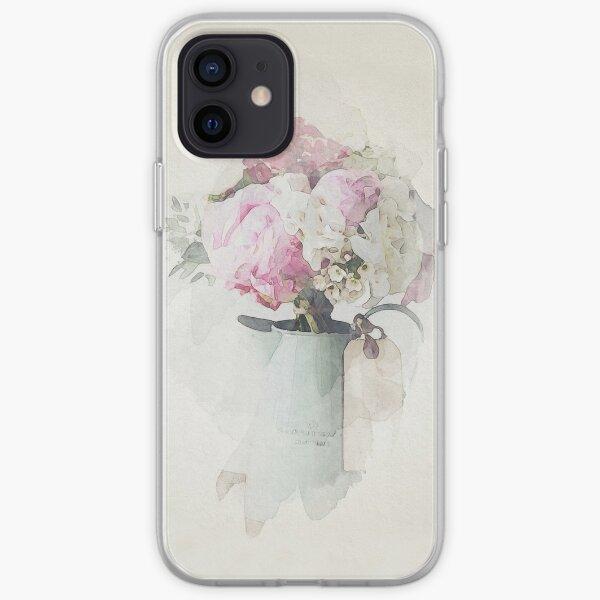 Watercolour Flowers iPhone Soft Case