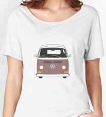 EB Camper Front Brown Women's Relaxed Fit T-Shirt