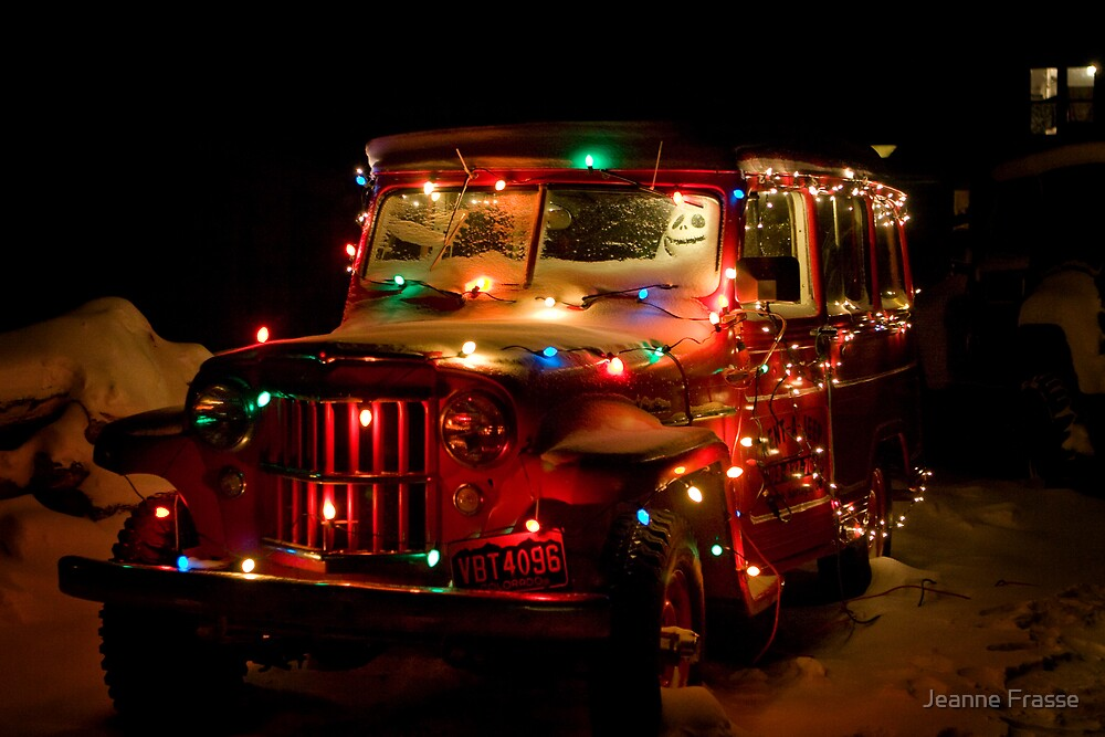 Holiday truck by Jeanne Frasse