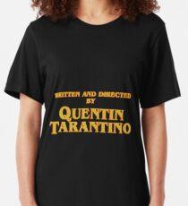 Camiseta ajustada Escrito y dirigido por Quentin Tarantino.