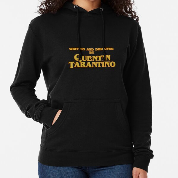WRITTEN AND DIRECTED BY QUENTIN TARANTINO (ORIGINAL) Lightweight Hoodie