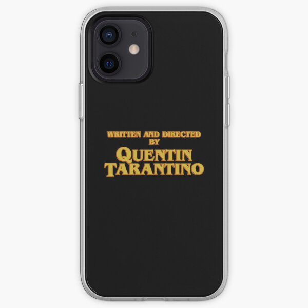 WRITTEN AND DIRECTED BY QUENTIN TARANTINO (ORIGINAL) iPhone Soft Case