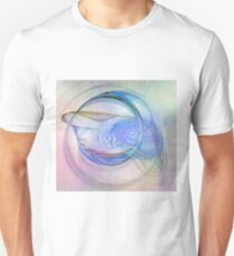 Blue Flame-Available As Art Prints-Mugs,Cases,Duvets,T Shirts,Stickers,etc T-Shirt