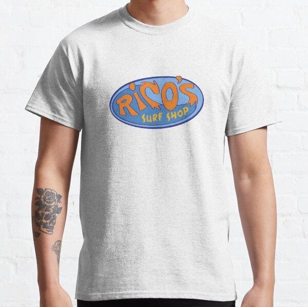 """Logotipo de Hannah Montana """"Rico's Surf Shop"""" Camiseta clásica"""