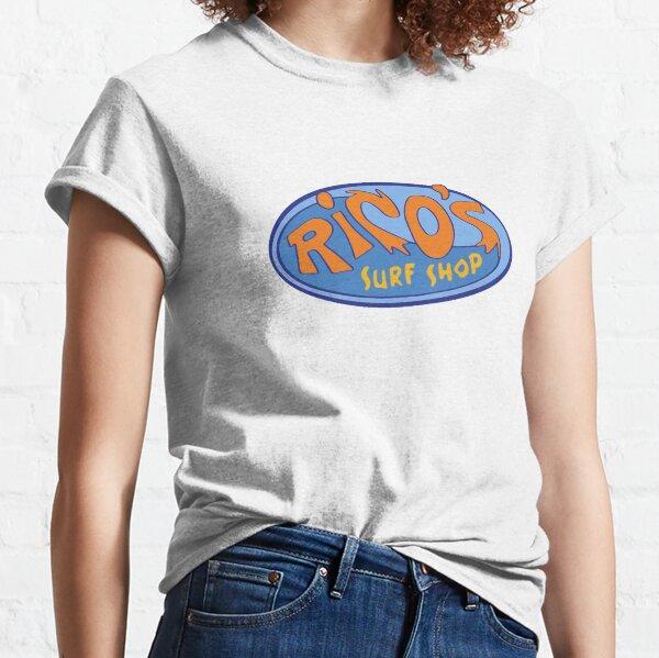 "Hannah Montana ""Rico's Surf Shop"" Logo Classic T-Shirt"