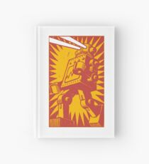 Red Robot Hardcover Journal
