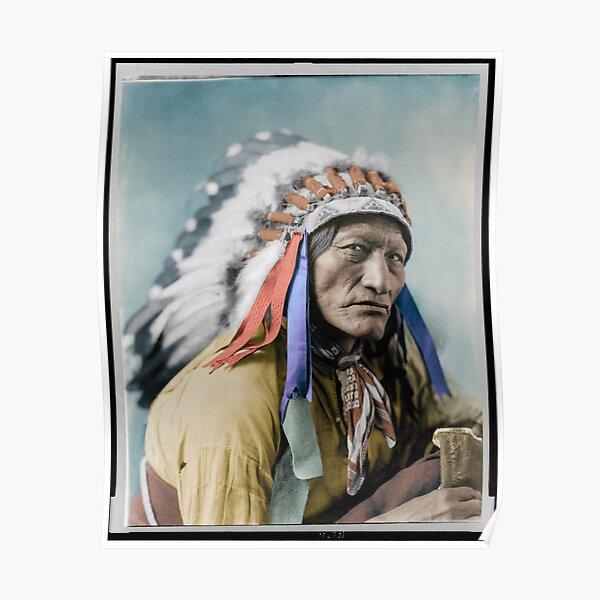 High Bear of the Lakota Sioux Poster