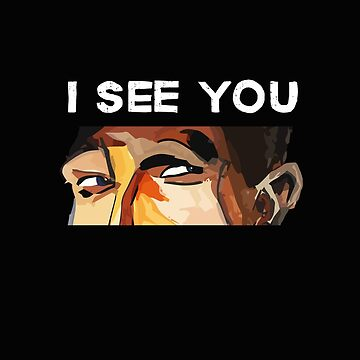 I see you by BlackLineWhite
