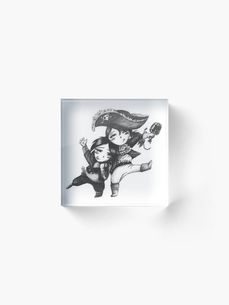 Alternative Ansicht von Pirates Acrylblock