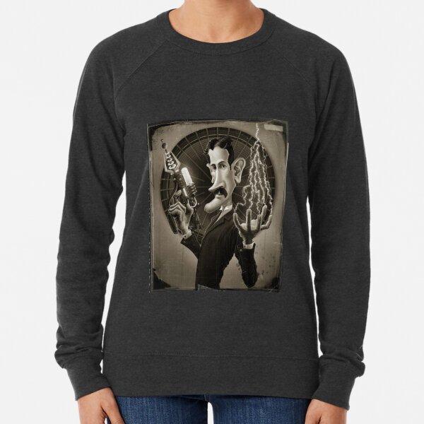 Nikola Tesla Lightweight Sweatshirt