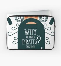 Why Are Pirate??? Laptop Sleeve
