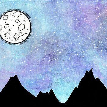 Full Moon by ilerys
