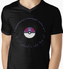 A Masterball to catch them all Men's V-Neck T-Shirt